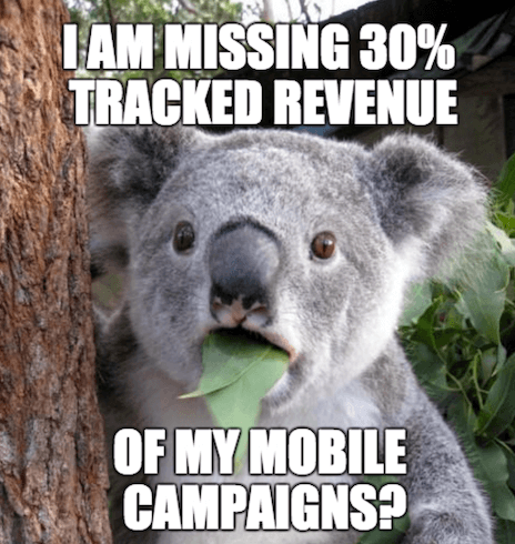 Missing 30% of Mobile Revenue