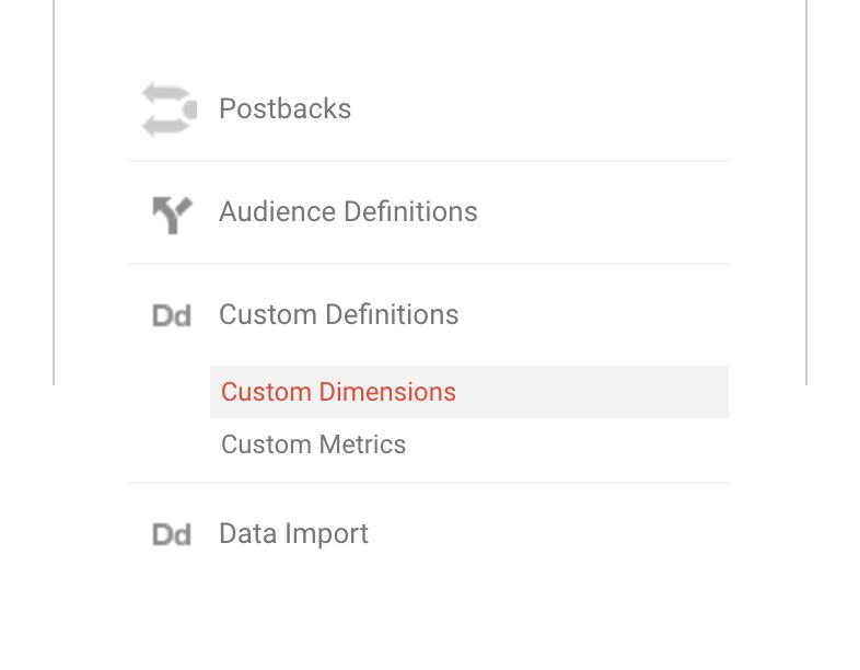 GA - Custom Dimensions